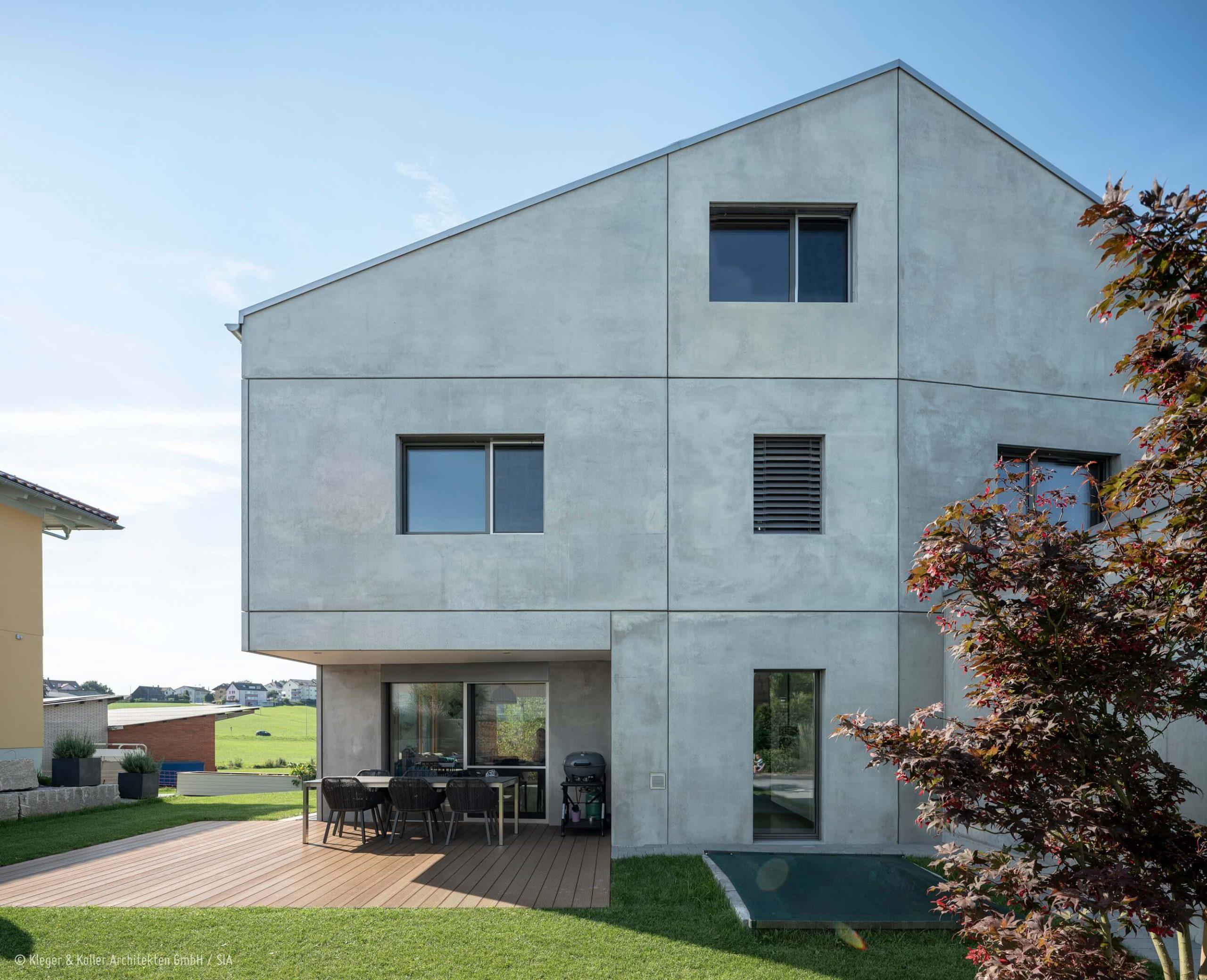 Lömmenschwil Aussen | Kleger und Koller Architekten