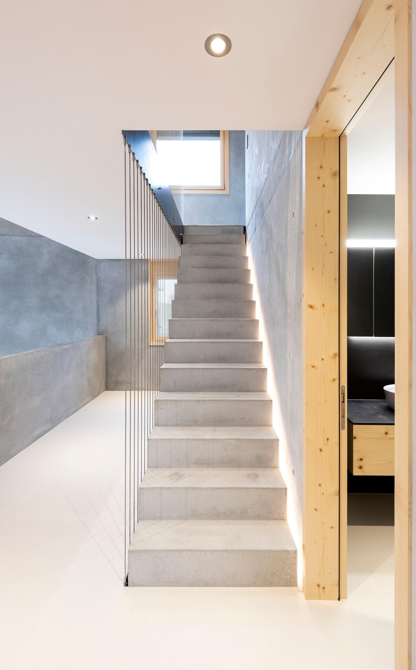 Lömmenschwil Treppen 2 | Kleger und Koller Architekten