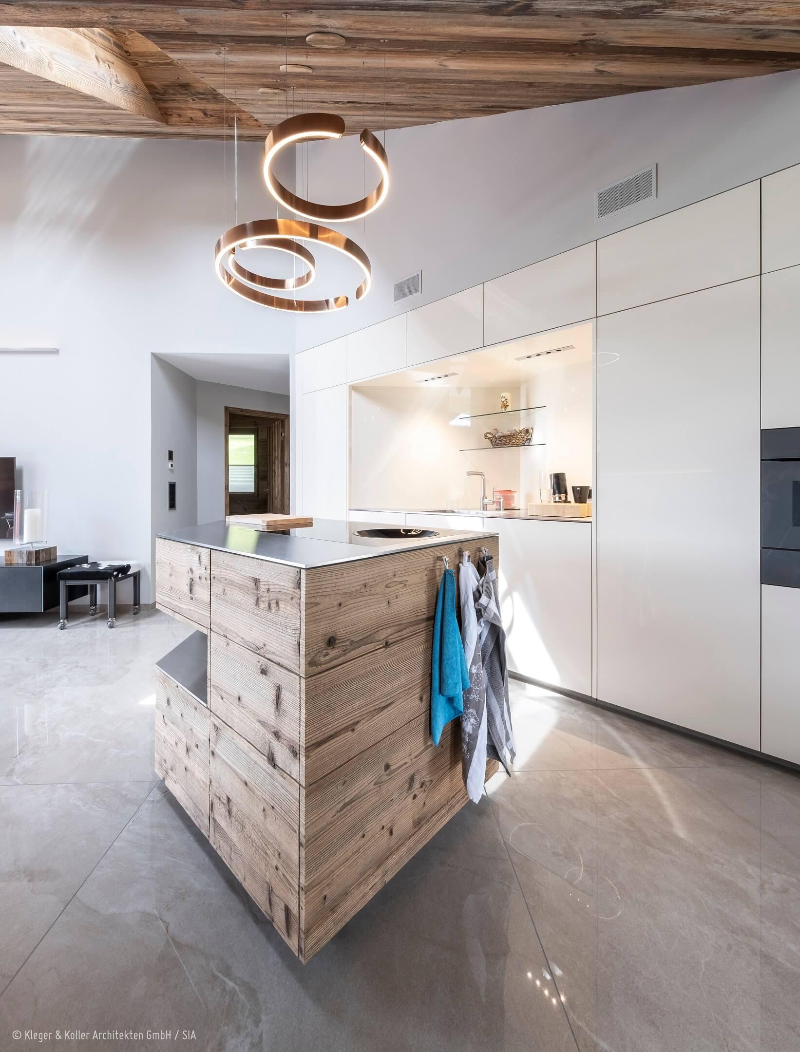 Wildhaus | Küche | Kleger und Koller Architekten